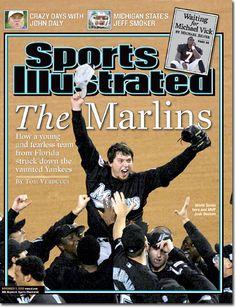 On the Cover: Josh Beckett, Baseball, Florida Marlins  Photographed by: John Iacono