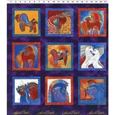 PRE-ORDER now at:  http://www.pmquilting.com/Laurel_Burch_Embracing_Horses_Panel_Y1530_28M_p/y1530-28m.htm
