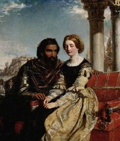Othello and Desdemona - William Powell Frith