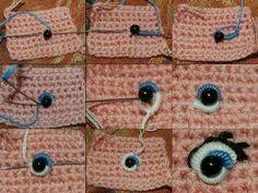 Mooie ogen borduren