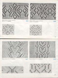 Узоры спицами, knit, knitting - Tatiana Alexeeva - Picasa Webalbums