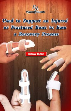 Promote healing and to prevent further injury