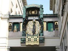 File:Hoher markt clock vienna.jpg