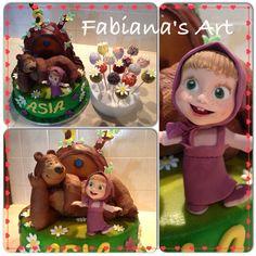 Torta Masha e orso 1 anno