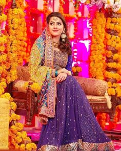 Client Diaries: Alizeh Noman made a radiant mehndi bride in a customised N Pakistani Mehndi Dress, Bridal Mehndi Dresses, Asian Bridal Dresses, Indian Wedding Gowns, Pakistani Fashion Party Wear, Pakistani Formal Dresses, Pakistani Wedding Outfits, Pakistani Wedding Dresses, Bridal Outfits