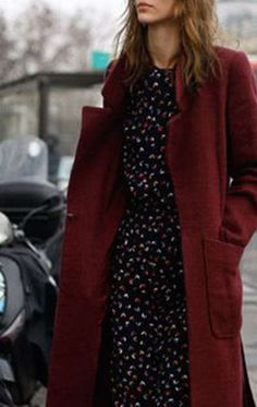 3 Ways to Wear a Floral Dress this Winter