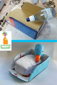 Cool recycled diapers caddy. https://www.etsy.com/listing/173315602/whimsical-diapers-organizer-bird-diaper?ref=shop_home_active