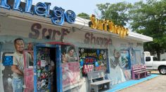 Village Surf Shoppe in Garden City Beach, SC. Open since the 1960s and owned by locals