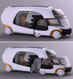 The Colim Modular Camper is a car, a trailer and a motorhome all in one. The Colim Modular Camper is a car, a trailer and a motorhome all in one. The Colim Modular Camper is a car, a trailer and a motorhome all in one. Auto Design, Design Autos, Design Cars, Futuristic Technology, Futuristic Cars, Technology Gadgets, Futuristic Architecture, Futuristic Vehicles, Technology Gifts