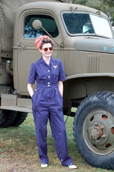 WWII Factory Coveralls | Wearing History