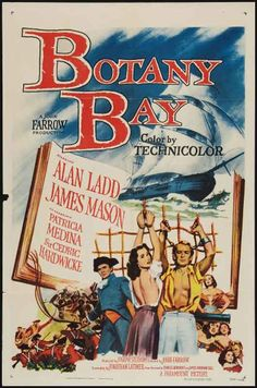 Belgium movie posters 2000   Botany Bay (1953)