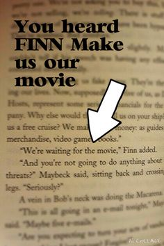 See even Finn agrees that a movie needs to be made! Kingdom Keepers