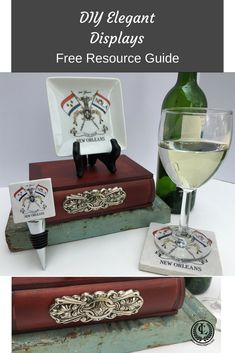 Small Plate Offer By Classic Legacy Wooden Books, Marble Coasters, Wine Bottle Stoppers, Store Windows, Small Plates, Luxury Gifts, Customized Gifts, New Orleans, Cities