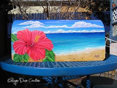 Rayne Daze Creations: Painted Mailbox