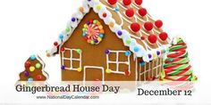 A favorite food of an Armenian monk, Gregory of Nicopolis, brought gingerbread to Europe around 992 AD and taught French Christians to bake it. Gingerbread was often used in religious ceremonies and was baked to be sturdy as it was often molded into images of saints. #GingerbreadHouseDay