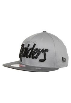 1f92ed270a Boné New Era 9Fifty Oakland Raiders Preto e Cinza