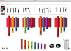 Boom from The Music Interactive. Notate your boomwhacker compositions and play them back