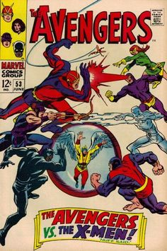 The Avengers #53 (1963 series) - cover by John Buscema