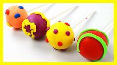 👏 Aprende los Colores con Plastilina Play Doh 👏 Lollipops | Aprender Col...