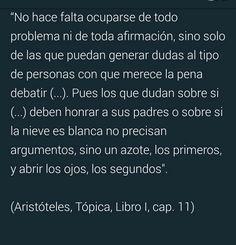 """Miguel Á QuintanaPaz en Twitter: """"Aristóteles avanza instrucciones para tuiteros 2.300 años antes de tuíter: verbigracia, acerca de por qué no hay que debatir con cualquiera. https://t.co/HcQzoiNfvD"""""""