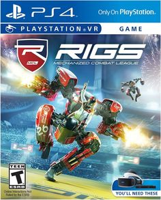 Brand New & Sealed Rigs Mechanized Combat League VR PlayStation 4 Play Stations, Final Fantasy Vii Remake, Vr Games, Games Box, Star Wars Jedi, Cyberpunk 2077, Kino Box, Electronic Arts, Virtual Reality Games
