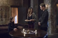 Hope, Hayley and Alaric.