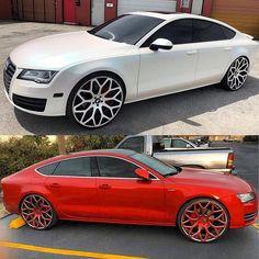 💣 Dayton Rims, Candy Paint Cars, Automobile, Donk Cars, Auto Body Repair, Audi A7, Car Colors, Car Wrap, Exotic Cars