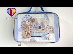 Bolsa/mala Infantil em tecidos Thomas - Maria Adna Ateliê - Cursos/aulas de bolsas e malas infantis - YouTube