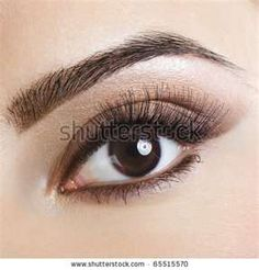 eye makeup for brown eyes and brown hair