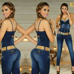 Colombian Butt Lift & Tummy Tuck Jumpsuit No padding   It lifts and shapes your butt   It molds your curves   It flattens your belly   It tones your legs   Unique style and fit   Stretchy material   Finest quality   Made in Colombia   Dark blue jeans as shown in the picture   New with tags   Please comment below with your size before purchasing   Price is firm unless we bundled Pants Jumpsuits & Rompers