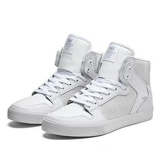 Yes perforated leather! (only when it's done right) · Supra SneakersSupra  FootwearWhite ...