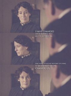 Downton Abbey - love Mrs. Hughes! She is a very inspirational woman!