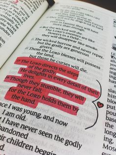 Though they stumble, they will never fall, for the Lord holds them by the hand.
