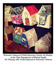 Ohio Department of Mental Health Art Display : Youth Exposed to Domestic Violence