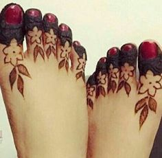 62 Best Mehndi designs for legs photos by Leg Mehndi, Legs Mehndi Design, Foot Henna, Mehndi Design Pictures, Modern Mehndi Designs, Wedding Mehndi Designs, Mehndi Designs For Fingers, Arabic Mehndi Designs, Henna Tattoo Designs