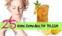 Home Remedies for Phlegm in Throat Get Rid of Phlegm