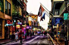 Looove bourbon street NOLA