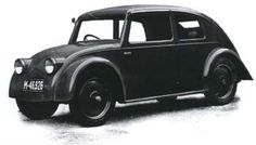 1933 Tatra V570, Czechoslovakia - Erich Ledwinka and designer Erich Überlacker worked on Type V570 prototype of 1931. Inspired by Rumpler and Paul Jaray's patented aerodynamic principles, the second V570 prototype of 1933 was transformed (with Jaray's help) into what looks remarkably like a proto-Volkswagen. Actually, Porsche and Ledwinka regularly exchanged ideas and the state of their current projects.