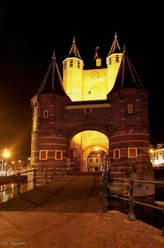Amsterdamse Poort.  Haarlem. My hometown. The Netherlands