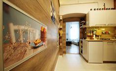 Faburkolat a konyha falán - konyha / étkező ötletek, modern stílusban