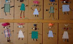 Awesome kid-made portraits