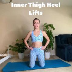Pilates Mat, Pilates Workout, Butt Workout, Thigh Exercises, Mat Exercises, Leg Circles, Outer Thighs, Pilates For Beginners, Sumo Squats