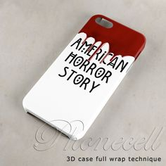 American Horror story case iphone 4 case,iphone 4s case,iphone 5 case,iphone 5c case,iphone 5s case,galaxy s3,galaxy s4,iPod case on Etsy, $14.75