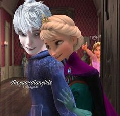 Image in Jelsa collection by Winter Frost on We Heart It Jelsa, Disney Fan Art, Disney Love, Sailor Moon Background, Disney Ships, Jack Frost And Elsa, Mermaid Pictures, Pixar, Most Beautiful Images