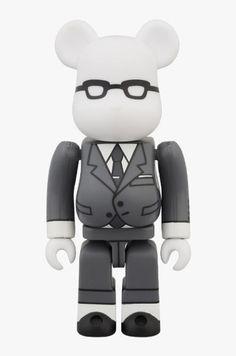 Thom Browne. Medicom Toy Bearbrick.