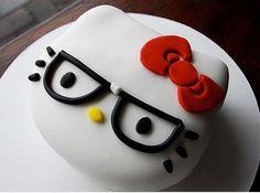 Hello Kitty Fondant Cake!