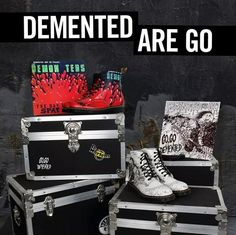 8 Eye Demented Are Go (Go, Go Demented) Dr. Martens Boots