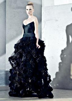 HUNTED : { Wedding Dress - Black Wedding Dress}