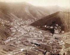 Deadwood, S.D.  in 1888