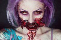 #Disfraces #Maquillaje 10 propuestas de maquillaje terroríficos para Halloween ¡Ve la galería!